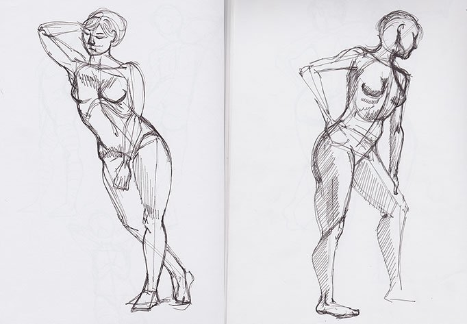 FigureDrawing-MathildePens