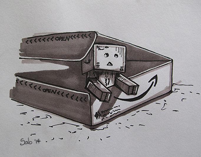 Doodle-Danbo-Box