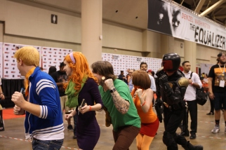 Fan Expo: Dreddful photobomb
