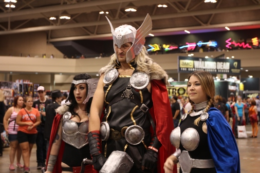 Fan Expo: Thor threesome
