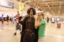 Fan Expo: Jon Snow looks a bit...