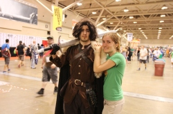 Fan Expo: Jon Snow looks a bit...