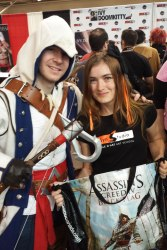 Fan Expo: the happiest assassin!