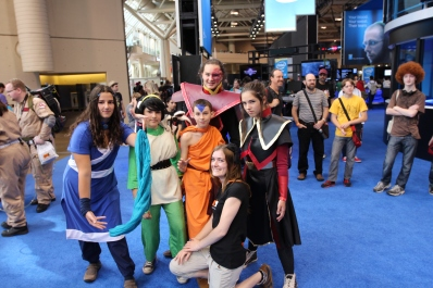 Fan Expo: A:TLA age appropriate cosplay!