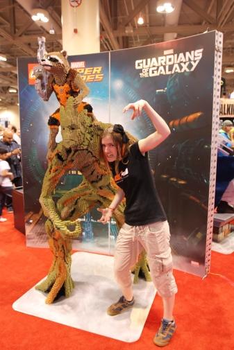 Fan Expo: RAWR! We are Groot!