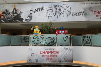 Fan Expo: Transformers promoting Chappie.