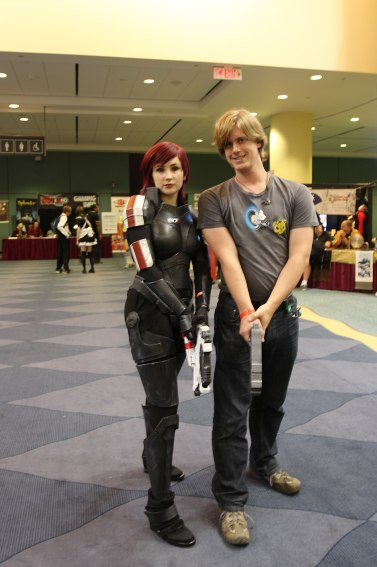 Fan Expo: Better than any male Shepard I've seen.