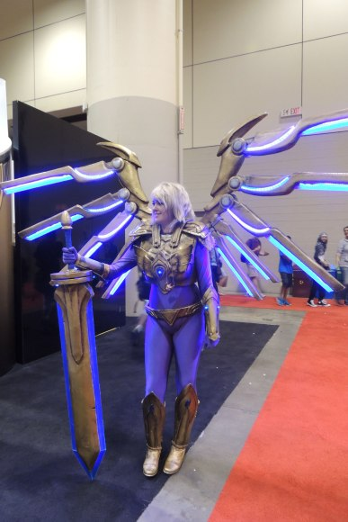 Fan Expo: Queen of glo-sticks! Actually I have no idea.