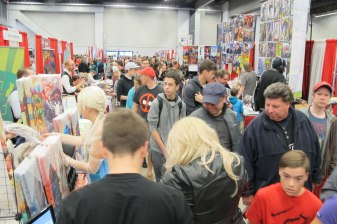 Comic Con: Our view from the table