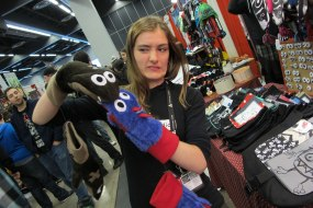 Comic Con: Disagreeable monster-mittens