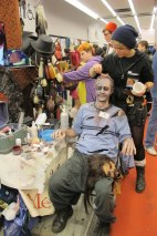 Comic Con: Zombie in the making!