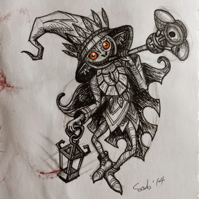 Extra : LoZ Twilight Princess' Skull Kid