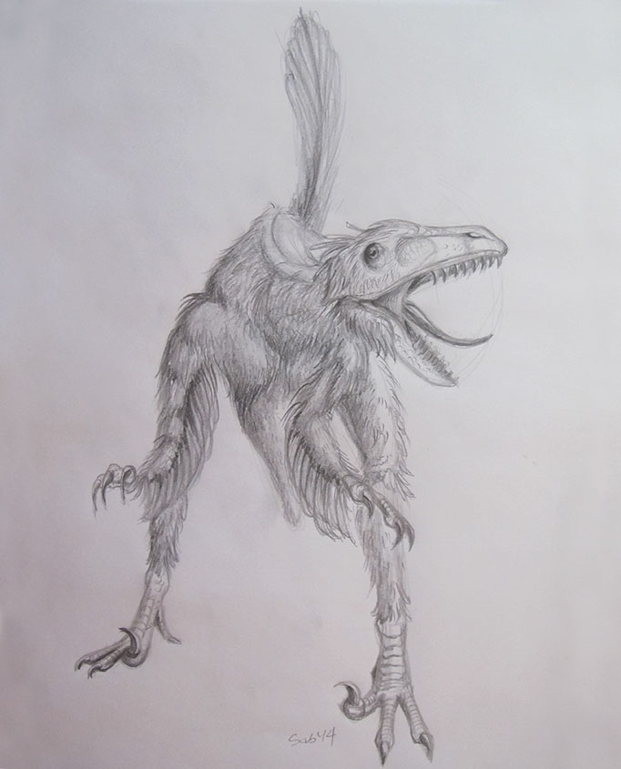NatureSketching-Dinosaur-FinalSketch