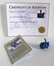 The Orr Kid adoption kit