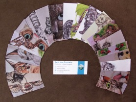 My awesome MiniMOO cards!
