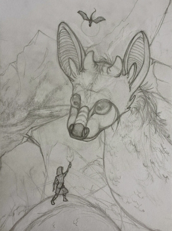 Pencil Stage, with some extra details I decided against.